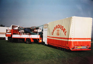 Transport Carrousel Eckelboom